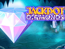 Играйте бесплатно в онлайн автомат Jackpot Diamonds в Вулкане Удачи
