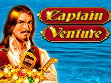 Онлайн игровой аппарат Captain Venture бесплатно в казино Вулкан