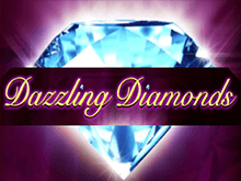 Онлайн азартная игра Dazzling Diamonds бесплатно в казино Вулкан