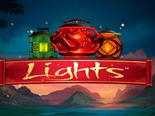 Игровой автомат Lights ярко раскрасит досуг в казино Вулкан