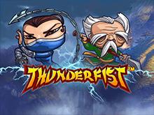 Онлайн слот Thunderfist обучает приемам победы в казино Вулкан