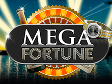Раскрасьте жизнь золотом с выигрышами на Вулкан в слоте Mega Fortune