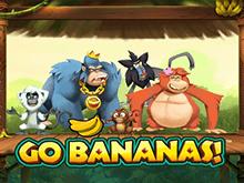 Слот Go Bananas! с золотыми бананами на сайте казино Вулкан