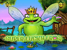 Волшебство удачи в слоте Super Lucky Frog дарит призы на Вулкан