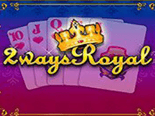Аппарат 2 Ways Royal — видео-покер от разработчика Playtech