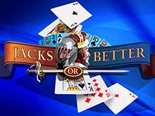 Карточный игровой автомат Jacks Or Better by Playtech онлайн