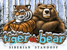 Новый игровой автомат Tiger Vs Bear – онлайн-слот о дикой природе