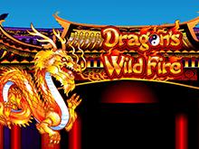 Онлайн азартная игра Dragon's Wild Fire бесплатно в казино Вулкан