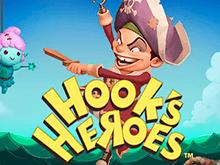 Выигрывайте в 777 автомате Hook's Heroes сундуки пиратов онлайн